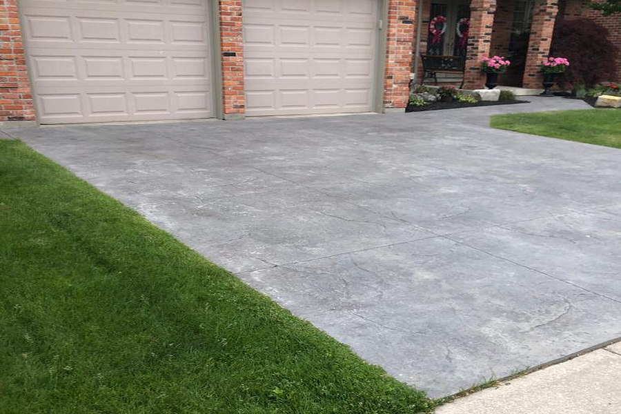Stamped Concrete, Broadway Concrete & Landscaping